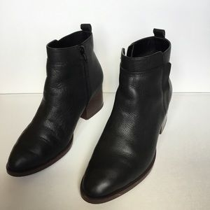 GAP Shoes - Gap Size 8 black leather booties